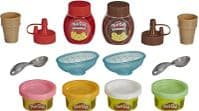 Play-Doh Kitchen Double Drizzle Ice Cream Playset